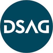 Logo der DSAG (Deutschsprachige SAP-Anwendergruppe)